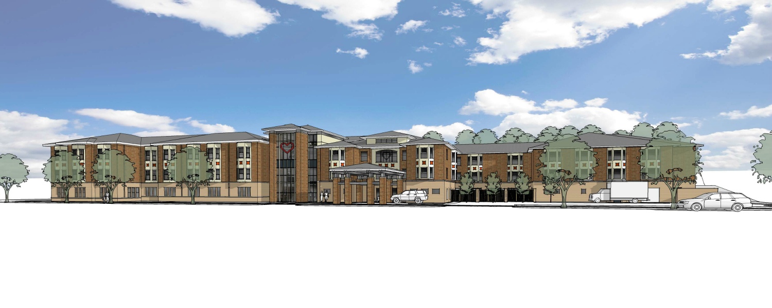 Ronald McDonald House Rochester Expansion Drawing